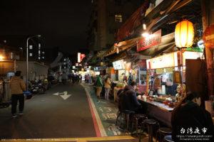 師大夜市の雰囲気