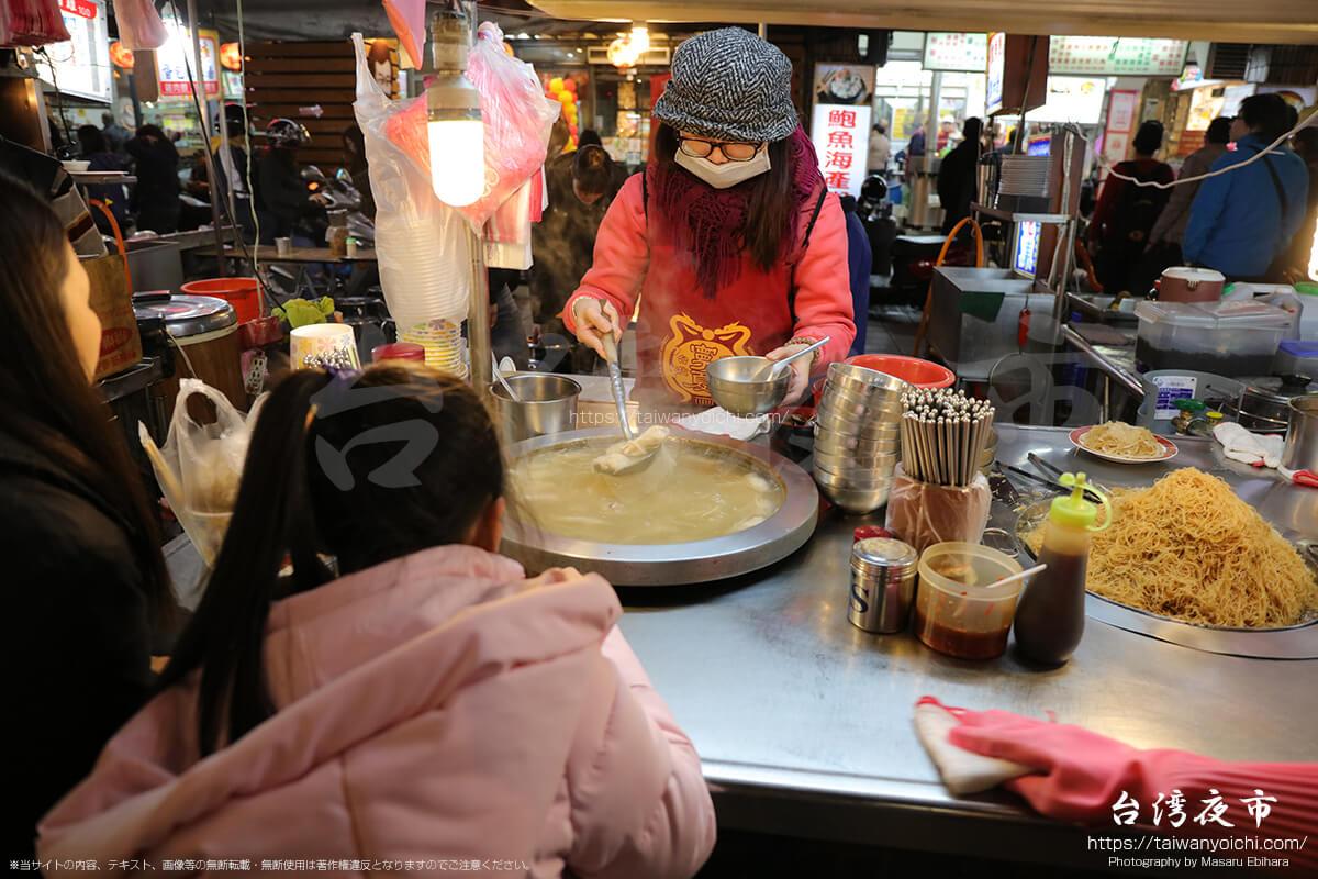 台湾料理の小吃を出す屋台