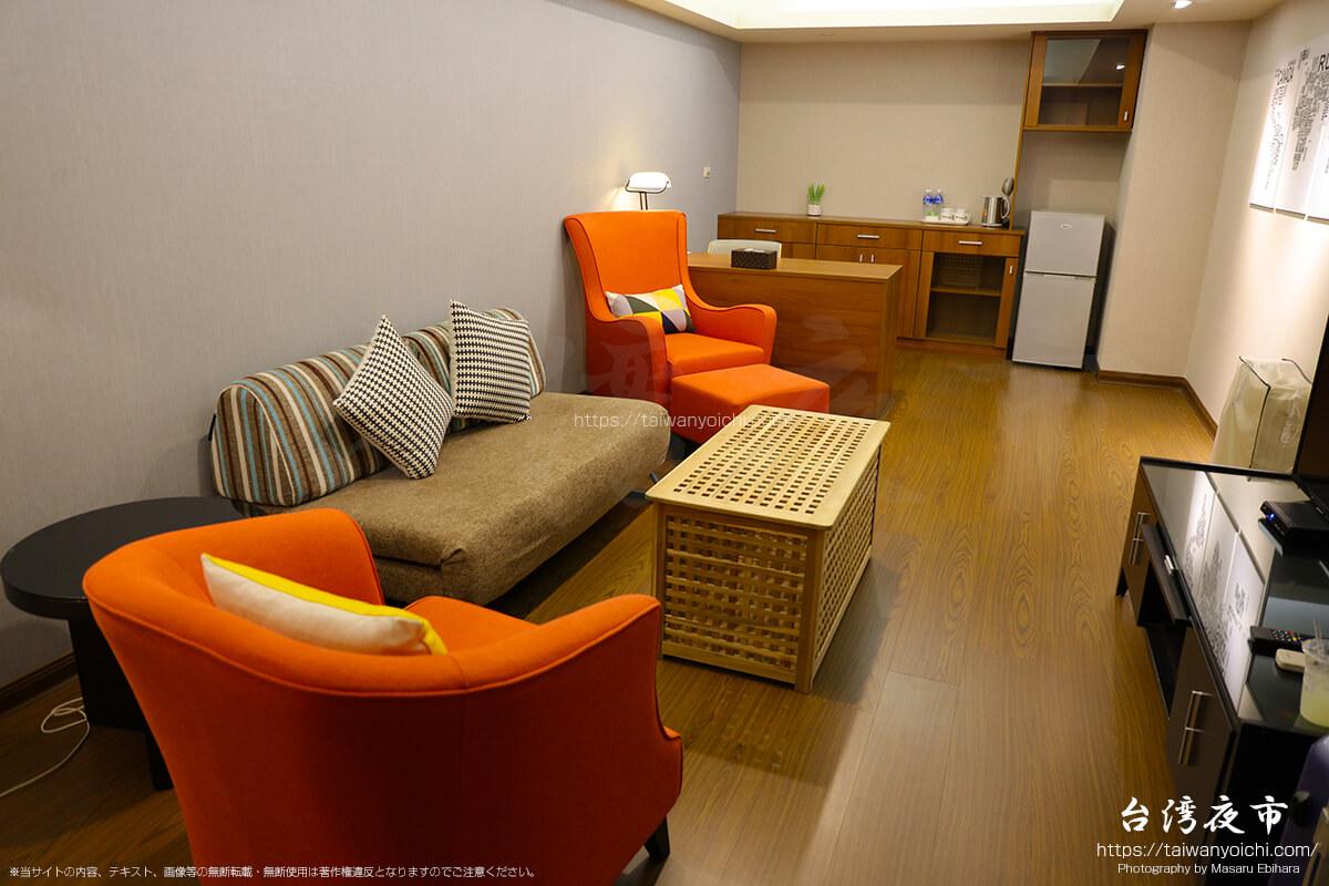スカイ19ホテル日光拾玖(旧名称:大名ビジネスホテル)のデラックススイートルーム