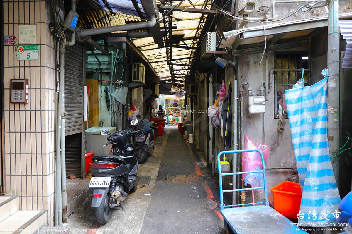 城中市場の入口