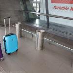 桃園国際空港の喫煙所