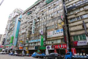 台北市街の街並み