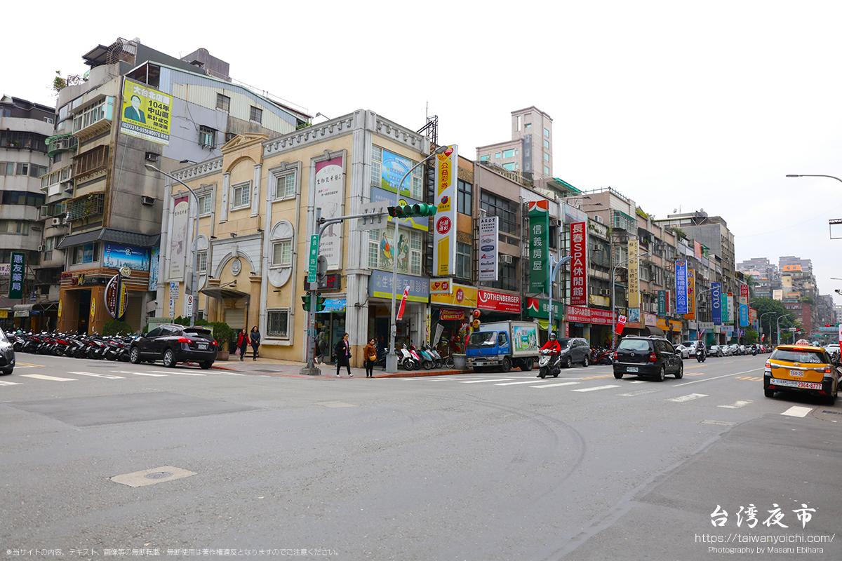 中国吉林省の雰囲気が強い街並