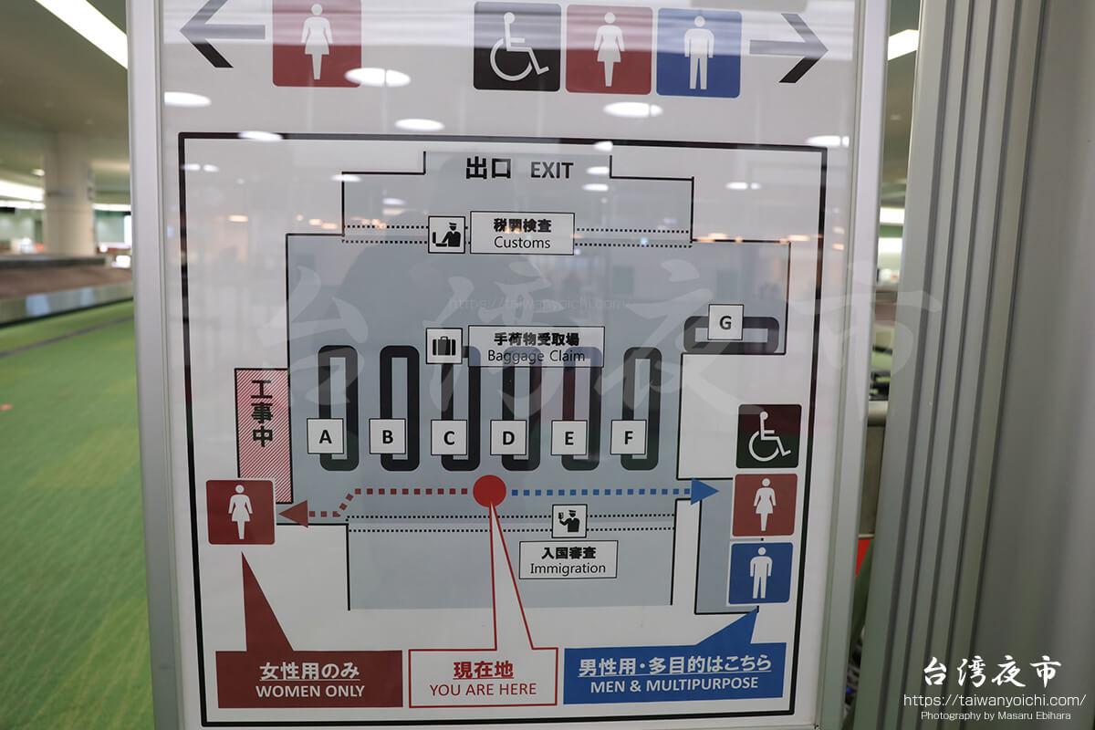 羽田空港国際線の入国審査、手荷物受取場、税関検査