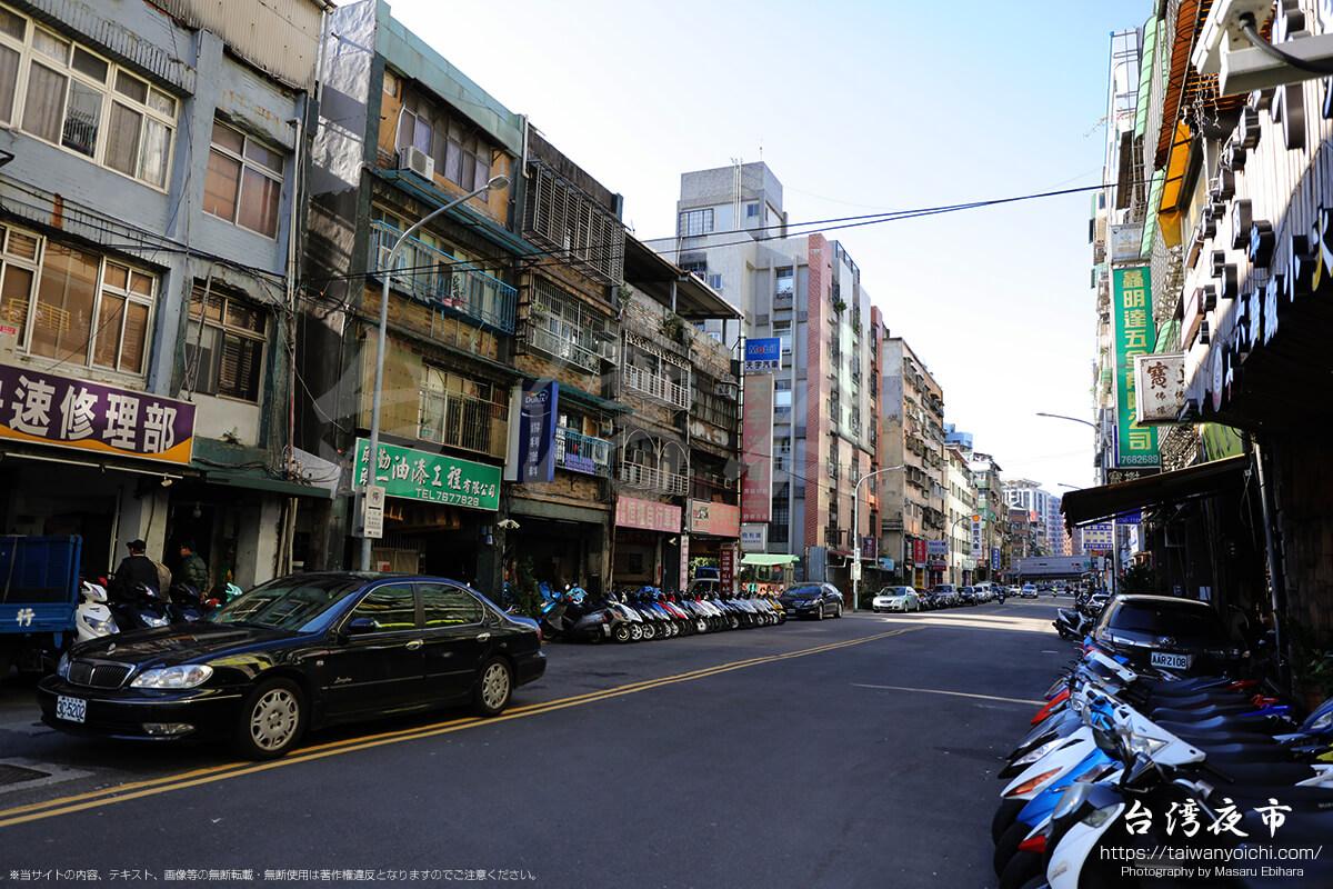 台北でバイクショップが立ち並ぶ街に侵入してみた