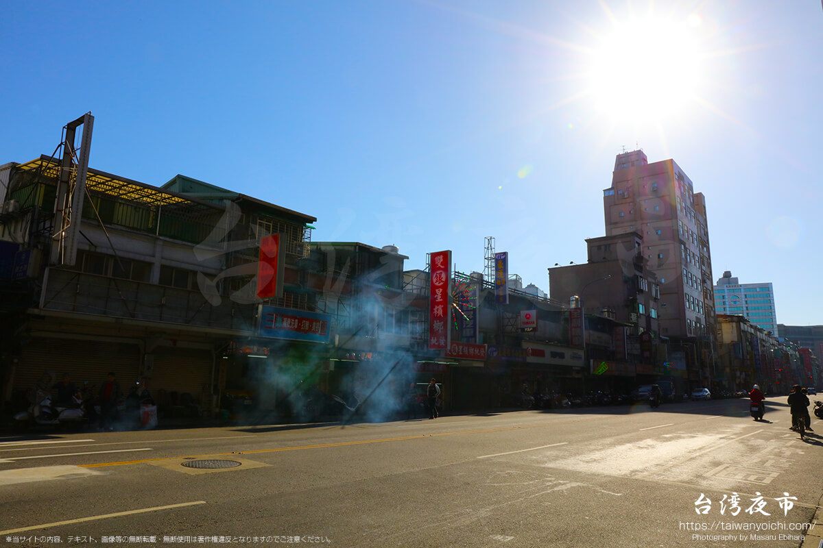 台北のバイク街