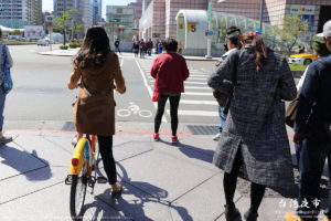 YouBikeをレンタルして、いざ台北サイクリングに出発