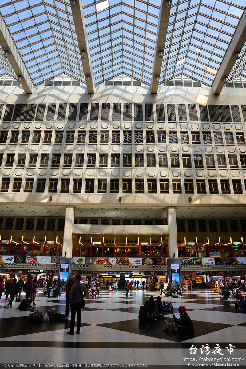 台北駅駅舎中央