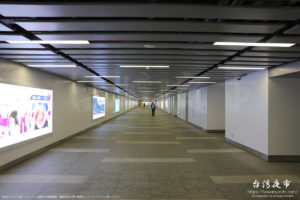 台北車站の地下通路