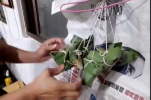 台湾の甘い粽(チマキ)