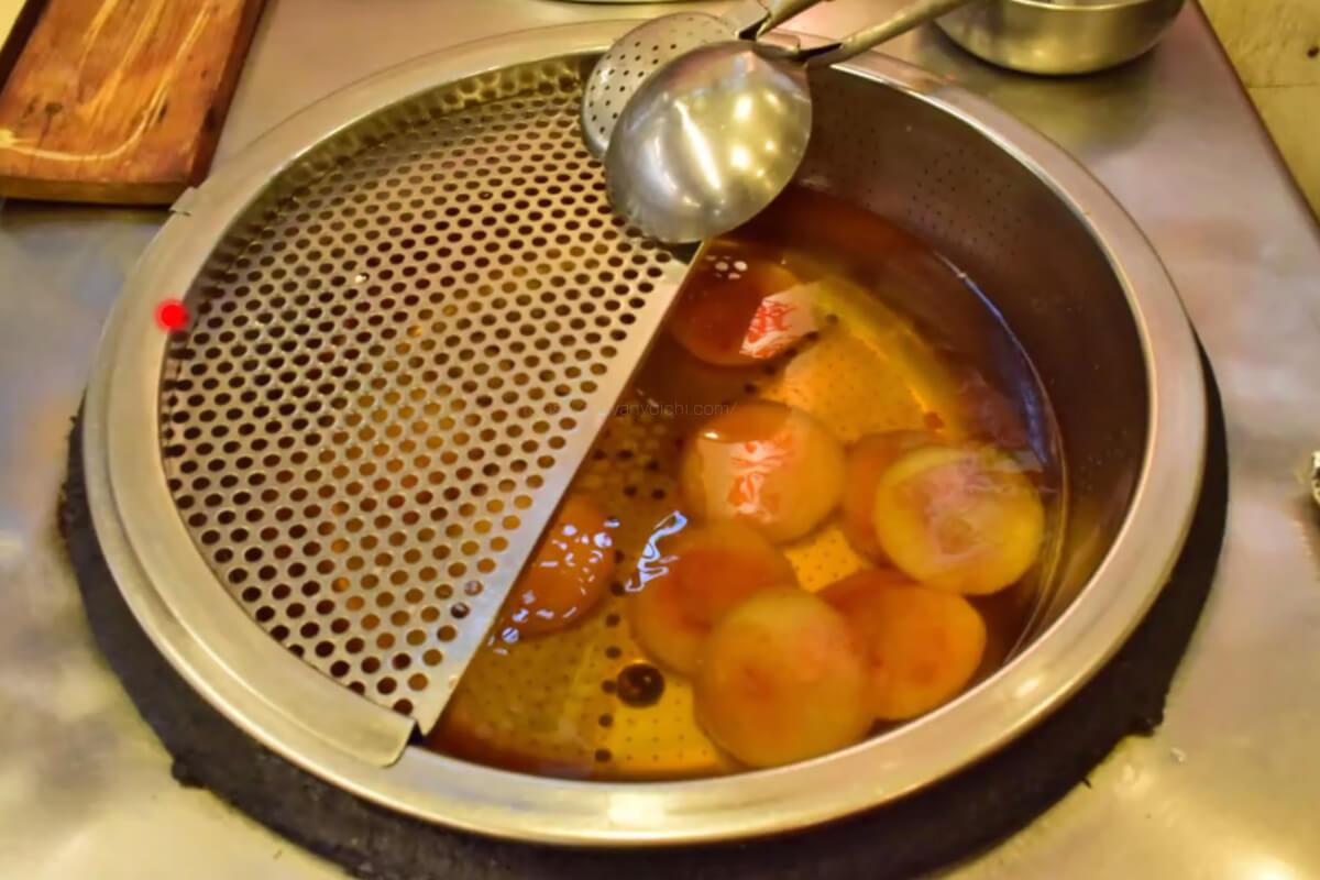 もち米とタピオカの原材料を混ぜた食べ物